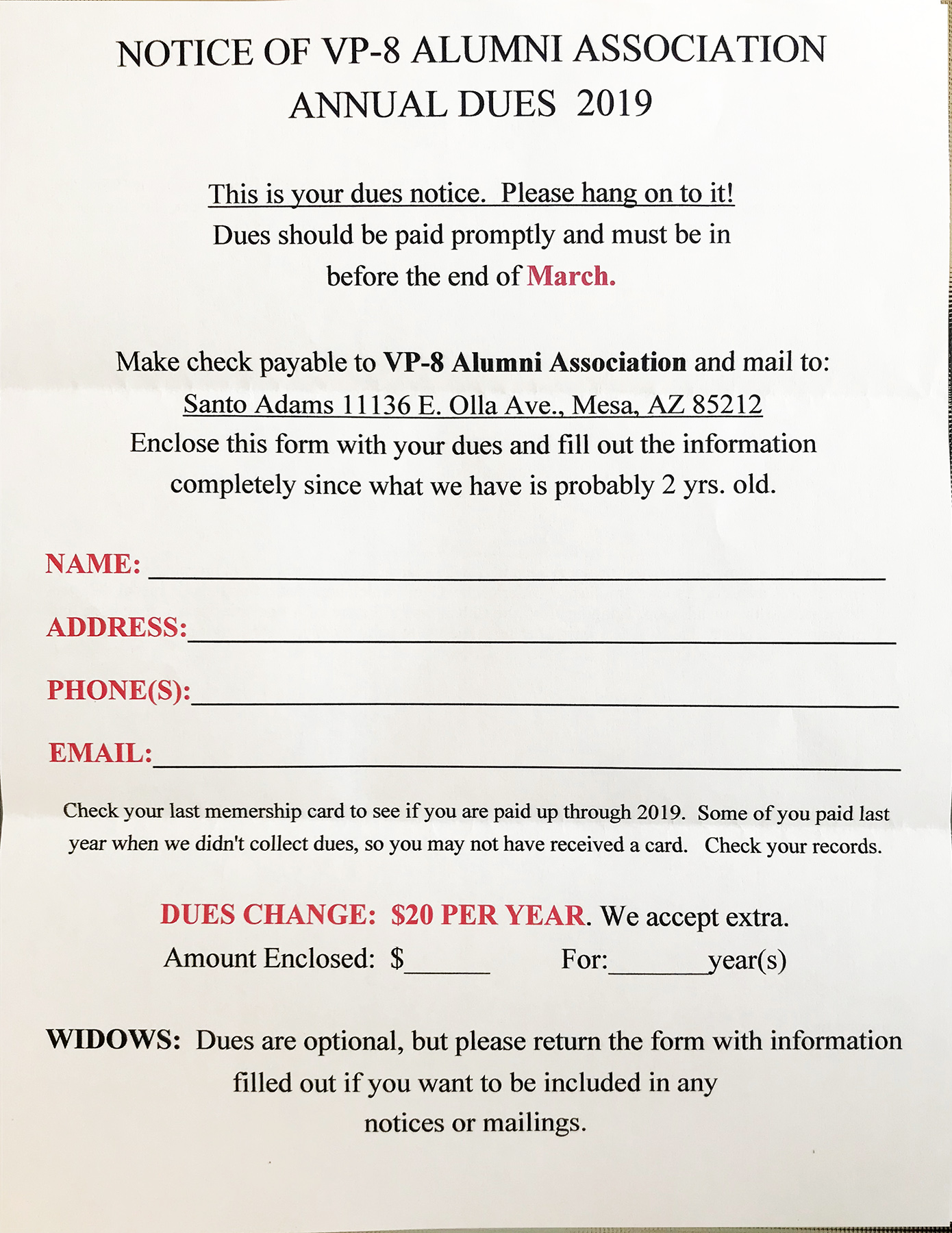 Page 5 Newsletter / Dues Form