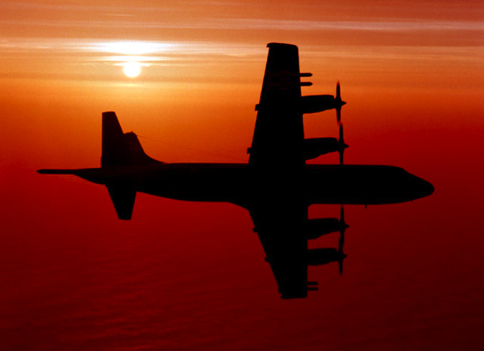 P3 Orion at Sunset