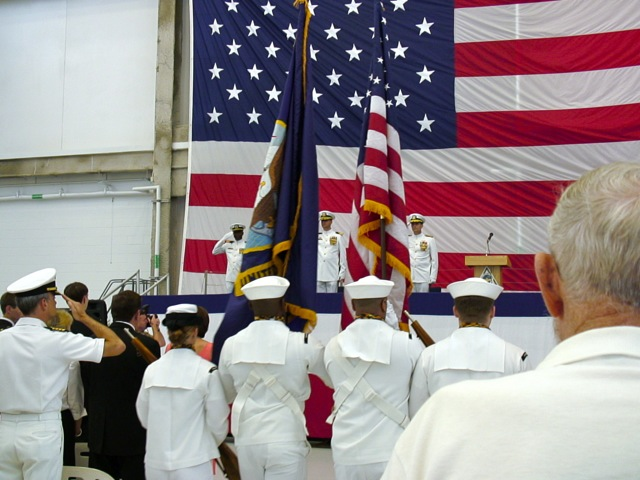 VP8 Change of Command